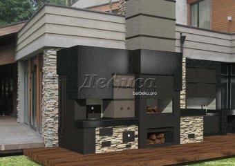 Барбекю комплекс «Новая деревня»
